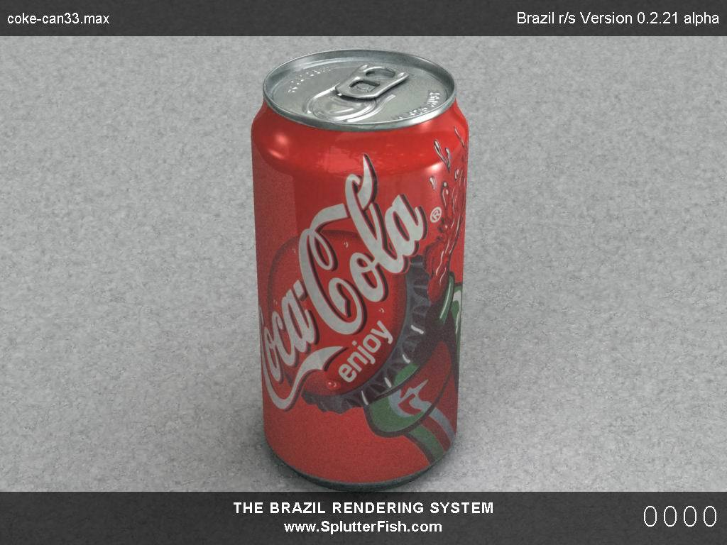 Coke Can test (WIP) by Lahl 3D Studio Max Realism