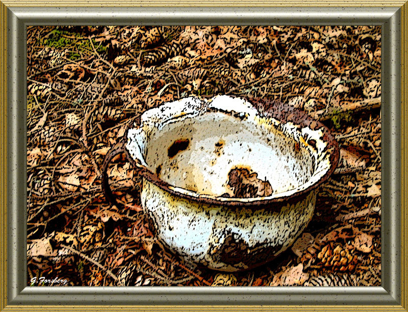 Chamber pot by Junglegeorge