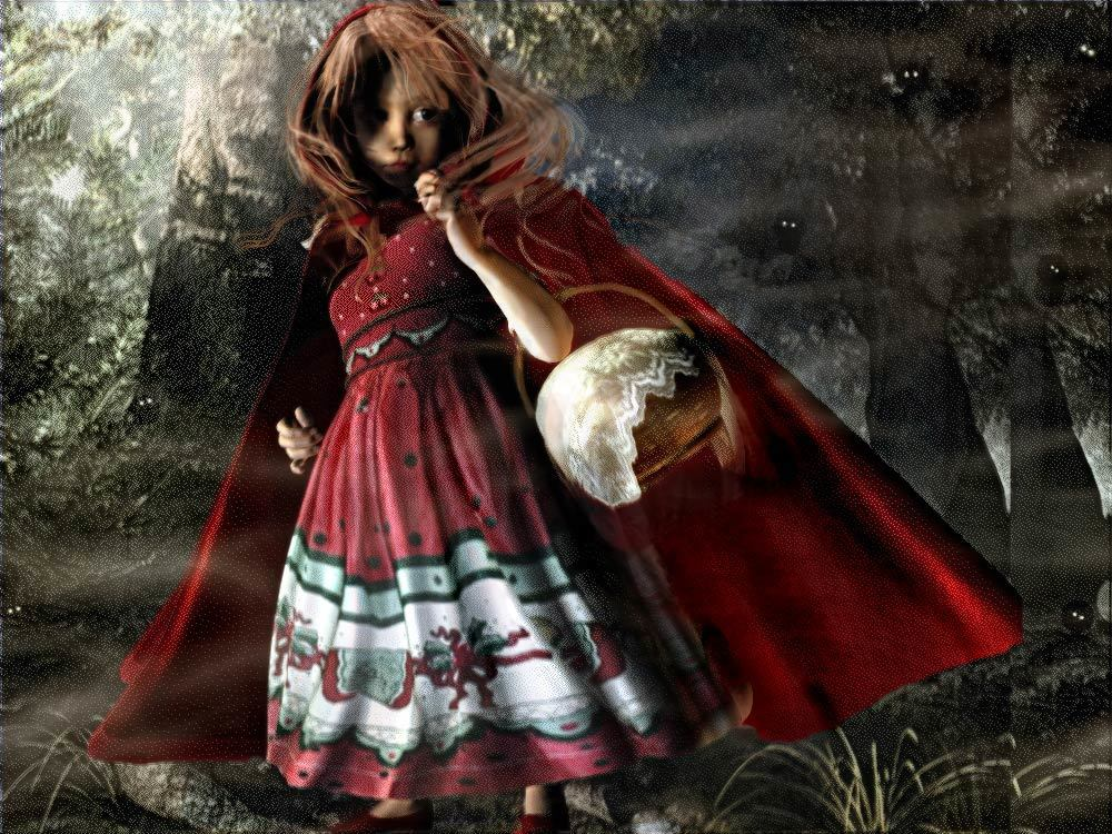 Red Riding Hood by Sprryte