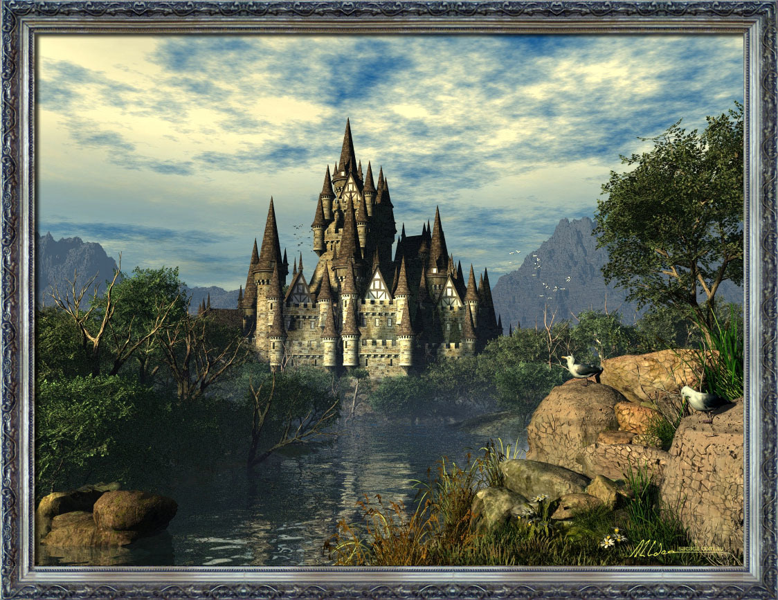 Castle on the Water's Edge