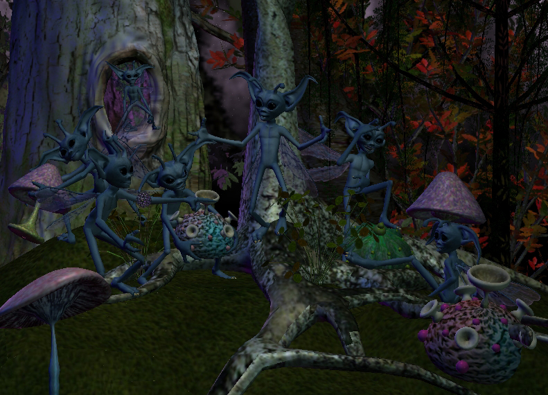 The Fungus Forrest