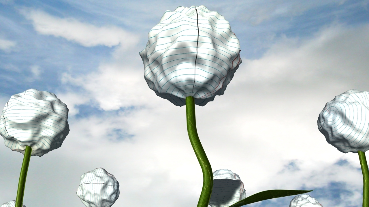 My Field Of Paper Flowers By Shadypleezgetup Cinema 4d Music