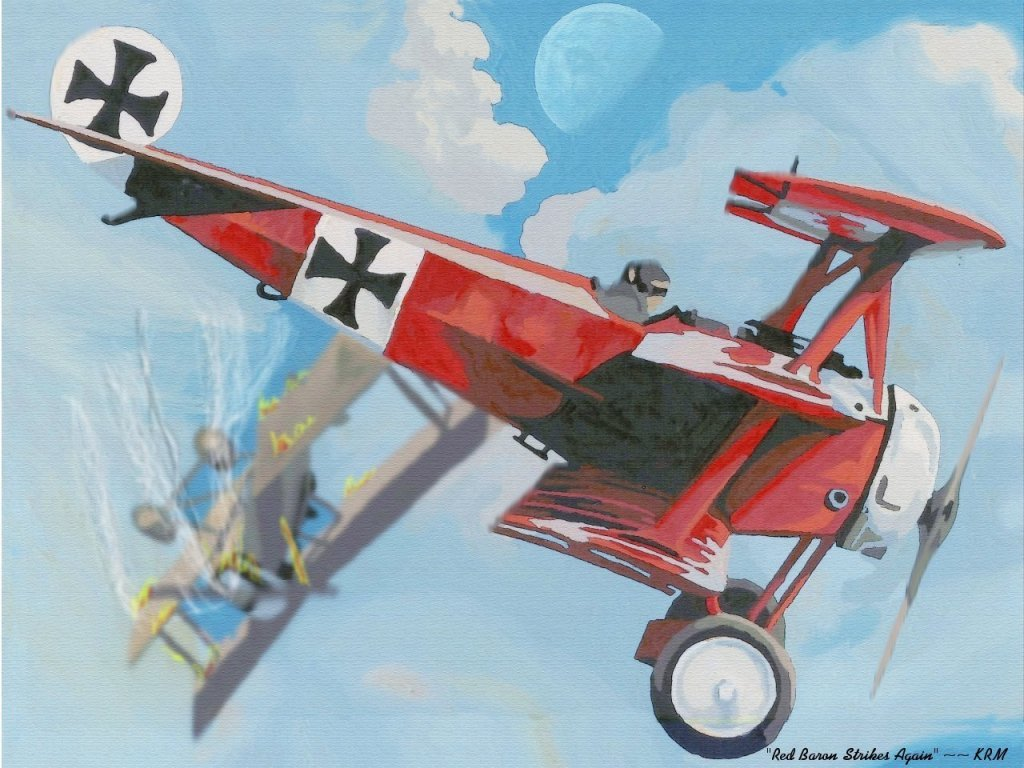 Red Baron Strikes Again
