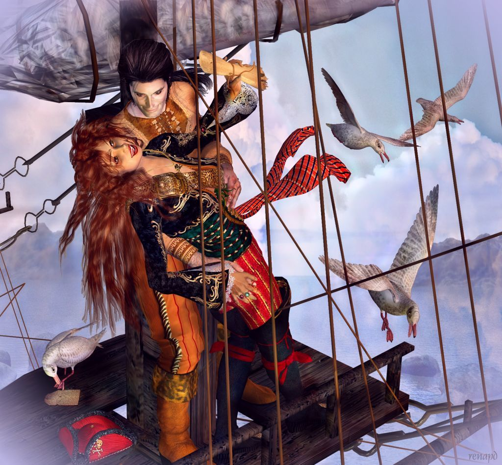 Captain Anne-Rouge Series: #15 Treasured Days by -renapd-