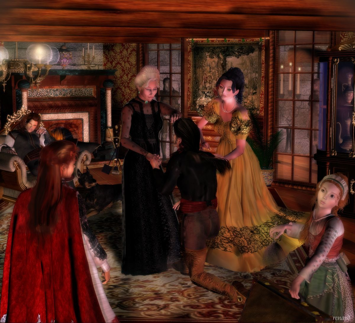Captain Anne-Rouge Series: #27 Family Bonds by -renapd-