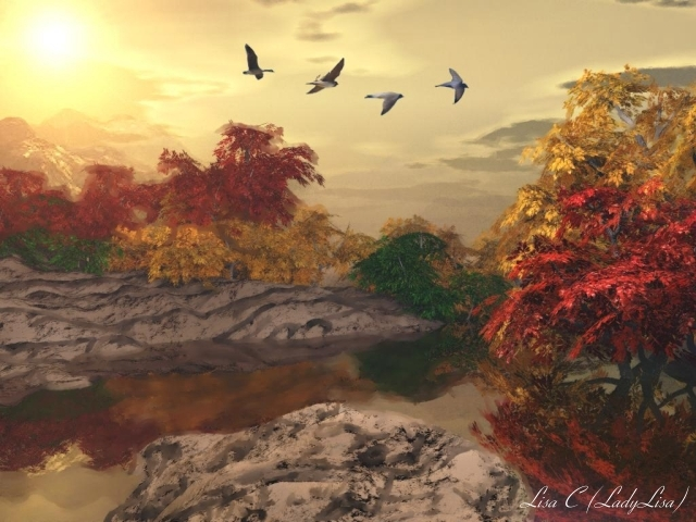 Almost Heaven by LadyLisa