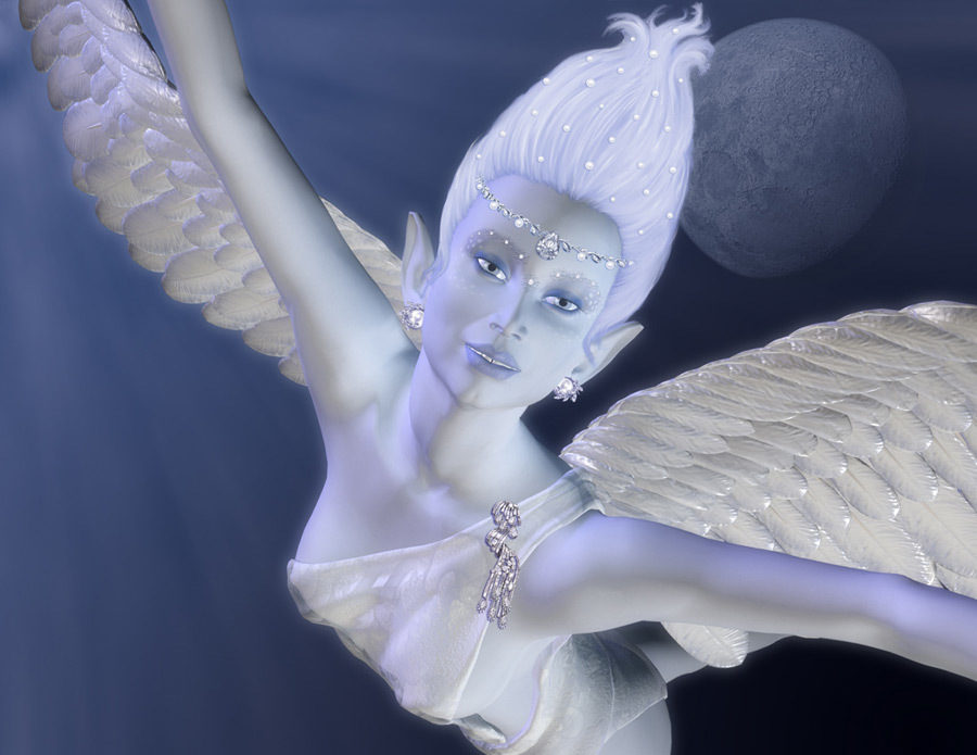 The ice angel