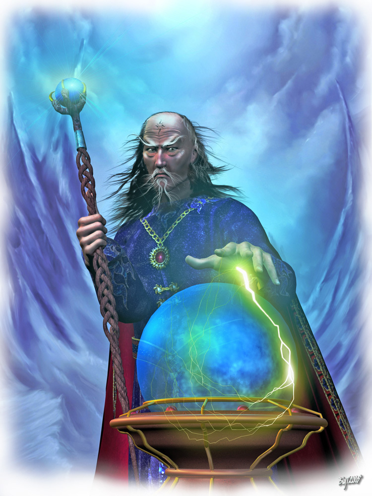 If ever a Wizard there was by Bigt