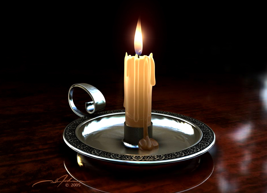 By Candlelight by djfalcon44 Cinema 4D Atmosphere/Mood